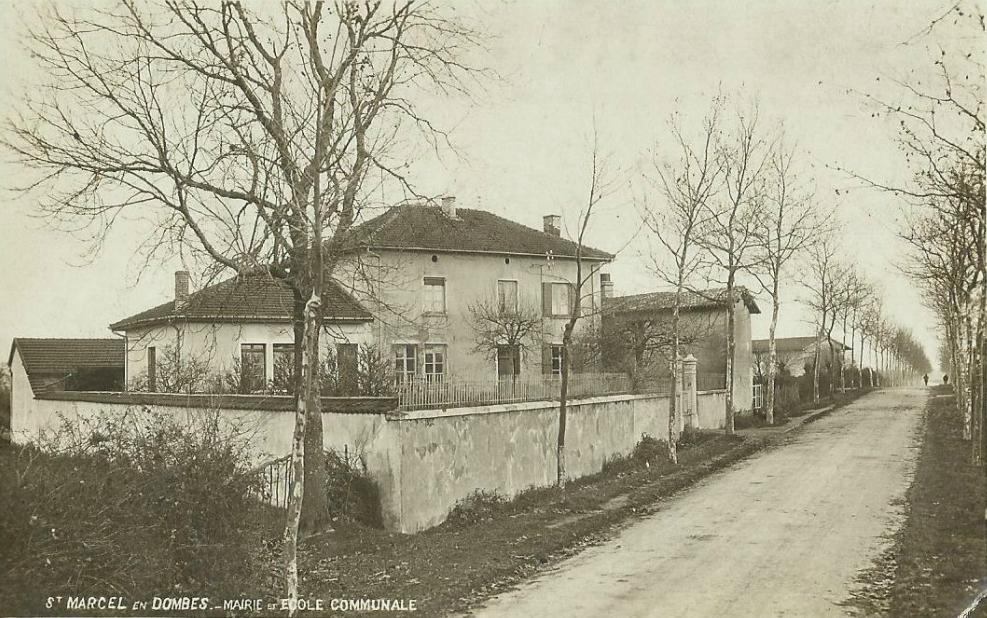 Mairie et école communale St Marcel en Dombes